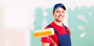 como preparar uma parede nova para pintura