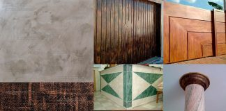 Pinturas de parede, texturas, pinturas decorativas