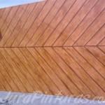 Depois - textura imitação de madeira